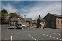 SD8789 : Former railway station, Hawes by Pauline E