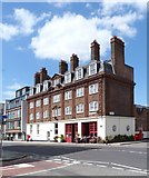 TQ3778 : Millwall (former Isle of Dogs) Fire Station, Westferry Road, London E14 by Julian Osley