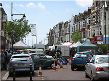 TQ7407 : Anglo-French Market, Devonshire Road by Oast House Archive