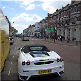 TQ7407 : Bad parking, Devonshire Road by Oast House Archive