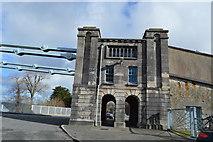 SH5571 : Southern Anchor House, Menai Suspension Bridge by N Chadwick