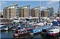 TQ3680 : Limehouse Basin Marina, London E14 by Jim Osley