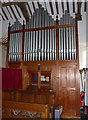 SD3186 : Holy Trinity, Colton: organ by Basher Eyre