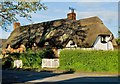 SP0943 : Shop Lane, Bretforton, Worcestershire by Paul Harrop