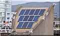 J3474 : Solar panels, Lagan Weir, Belfast - May 2015(1) by Albert Bridge