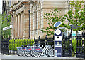 J3474 : Belfast Bikes, Corporation Square (May 2015) by Albert Bridge