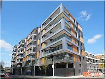 TQ3978 : Greenwich Square, block 2 by Stephen Craven