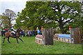 SK2671 : Chatsworth Horse Trials: cross-country fence 14ab by Jonathan Hutchins