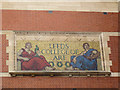 SE2934 : Leeds College of Art: mosaic by Stephen Craven