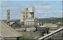 SD7543 : Hanson Cement, Clitheroe by Alan Murray-Rust
