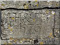 ST6601 : Date Stone on church wall, Cerne Abbas by Becky Williamson