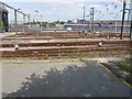 TQ2282 : Old Oak sidings, former North Pole Depot by David Hawgood