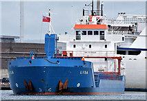 "J3576 : The ""Lisa"", Belfast - May 2015(2) by Albert Bridge"