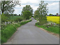 TL7337 : Small bridge over brook, Stambourne Road, Toppesfield by Roger Jones