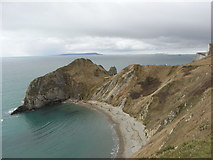 SY8080 : Man O' War Cove and Durdle Door by Maurice D Budden