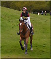 SK2671 : Chatsworth Horse Trials: Blyth Tait and Bear Necessity by Jonathan Hutchins