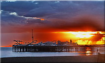TQ3103 : Palace Pier, Brighton by Dave Price