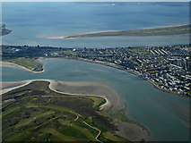 O2540 : Baldoyle from the air by Thomas Nugent