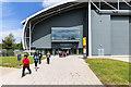 TL4646 : Entrance to Hangar 1 by David P Howard