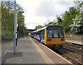 SJ8994 : Reddish North Station by Gerald England
