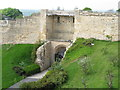 SK9771 : East Gate, Lincoln Castle by David Hawgood