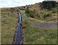 SO2210 : Upstream along the infant Afon Lwyd, Garn-yr-erw by Jaggery