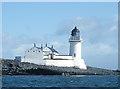 NM7212 : Fladda Lighthouse by Anne Burgess