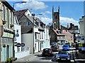 TQ1369 : Hampton Village and St Mary's Church Tower by David Dixon