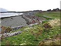 NM7038 : Sea shore at Craignure Golf course by wrobison