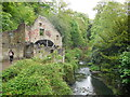 NZ2567 : Water Mill, Jesmond Dene by Paul Gillett