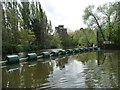 ST6668 : Boats shouldn't get swept onto Keynsham weir now by Christine Johnstone