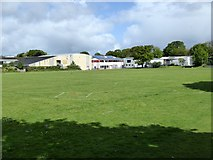 SX5994 : Okehampton College seen from Simmons Park by David Smith