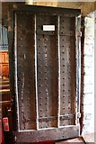 SO7937 : North door of St Gregory's church, Castlemorton by Bob Embleton