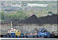 "J3575 : The ""Garmoyle"", Belfast harbour (May 2015) by Albert Bridge"