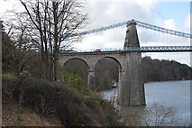 SH5571 : Menai Bridge by N Chadwick