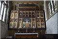 SK8497 : Reredos and Triptych,  All Saints' church, Laughton by Julian P Guffogg