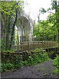 SX6094 : Charlotte's Bridge and Fatherford railway bridge,  Okehampton by David Smith