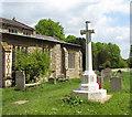 TM1389 : War memorial at Tibenham All Saints' church by Evelyn Simak