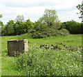 TM1589 : Overgrown air raid shelters on Site 2 by Evelyn Simak