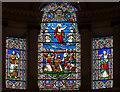 SK8190 : East window, All Saints' church, Gainsborough by Julian P Guffogg