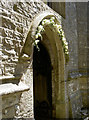 ST6065 : Garlanded doorway by Neil Owen