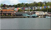 ST5772 : Hotwells waterfront below Clifton Wood by Christine Johnstone