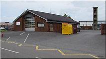 SN1916 : Whitland Fire and Rescue Station by Jaggery