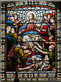 SK8190 : Stained glass window, All Saints' church, Gainsborough by Julian P Guffogg