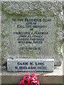 TM3961 : Roll of Honour by Keith Evans