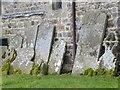 SO1858 : Headstones by the Church by Bill Nicholls