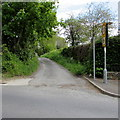 SN1917 : Byway east to Whitland Abbey by Jaggery