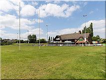 TL8663 : Bury St Edmunds Rugby Union Football Club by David P Howard