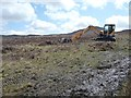 NY2720 : Digger on Low Moss by Christine Johnstone