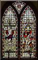SK8378 : East Window, St Peter's church, Torksey by Julian P Guffogg